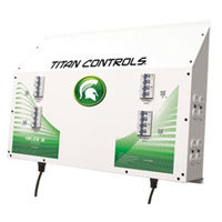 Titan Controls 702835 - Helios 16 - Grow Light Controller with Dual Trigger Cords - 16 Outlets for HID Ballasts - 16,000 Max. Wattage - 240V - 80A