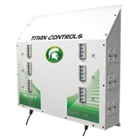 Titan Controls 702840 - Helios 17 - Grow Light Controller with Dual Trigger Cords - 24 Outlets for HID Ballasts - 24,000 Max. Wattage - 240V - 120A