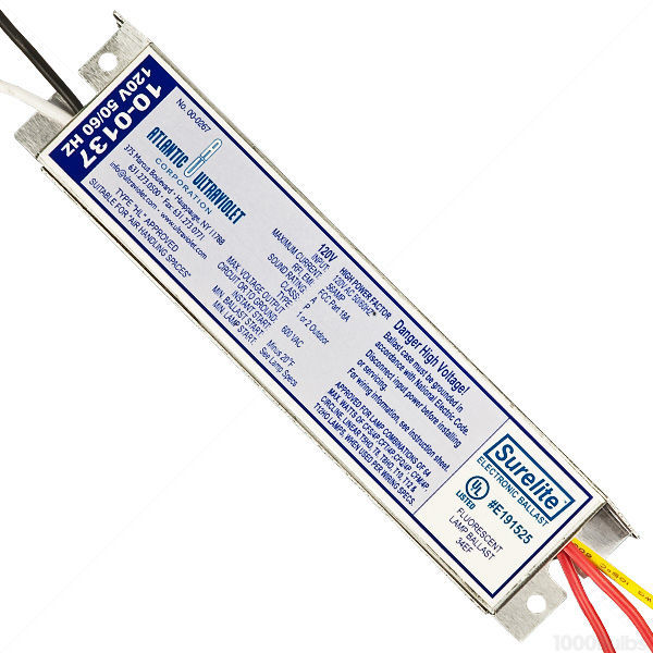 Surelite Electronic Ballast for Germicidal Lamps Image