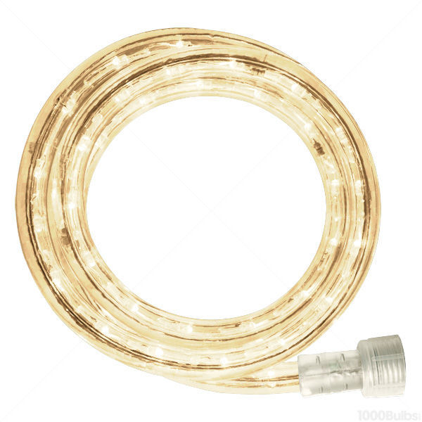 12 ft. - LED Rope Light - Warm White - (Clear) Image