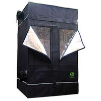 4.11 x 2.7 x 6.7 ft. - Indoor Grow Tent - Mylar Thermal Protection - Adjustable Intake and Exhaust Ports - Waterproof Floor - 80L by GrowLab