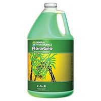 1 gal. - FloraGro - Vegetative Fertilizer - Hydroponic Nutrient Solution - General Hydroponics 718045