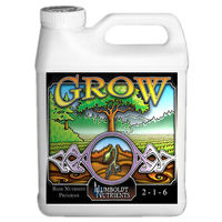 1 qt. - Grow - Vegetative Fertilizer - Hydroponic Nutrient Solution - Humboldt Nutrients HNG405