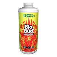1 qt. - BioBud - Bloom Stimulator - Hydroponic Nutrient Solution - (0.5-0.1-1) NPK Ratio - General Hydroponics GH5332