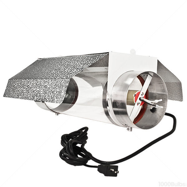 Cool Tube Grow Light Reflector - 8 in. Dia. Flanges for Exhaust Duct Image