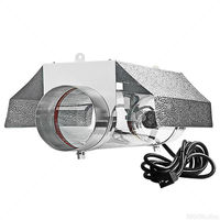 Cool Tube Grow Light Reflector - 6 in. Diameter Flange - Operates up to 1000W MH or HPS Lamp - Mogul Socket - UltraGROW UG-RCT/6