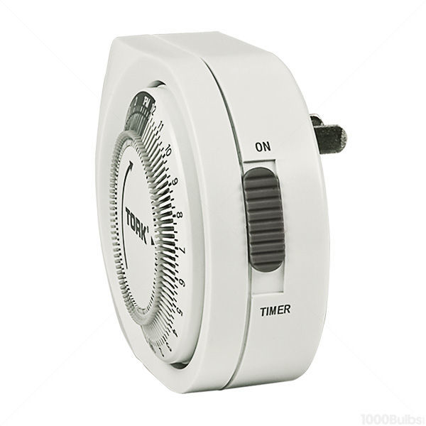 Tork 401A | 24 Hr. Mechanical Plug-In Timer | 125VAC