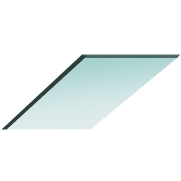 Blazer 8 in. Tempered Replacement Glass Image