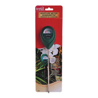 Sun System 740860 - Bond Moisture Meter - Indoor/Outdoor Use - No Batteries Required