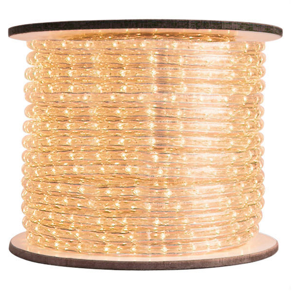3/8 in. - Warm White - Clear Rope Light Image