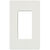 Lutron CW-1-GR - Gray - Claro One-Gang Wallplate - Gloss Finish