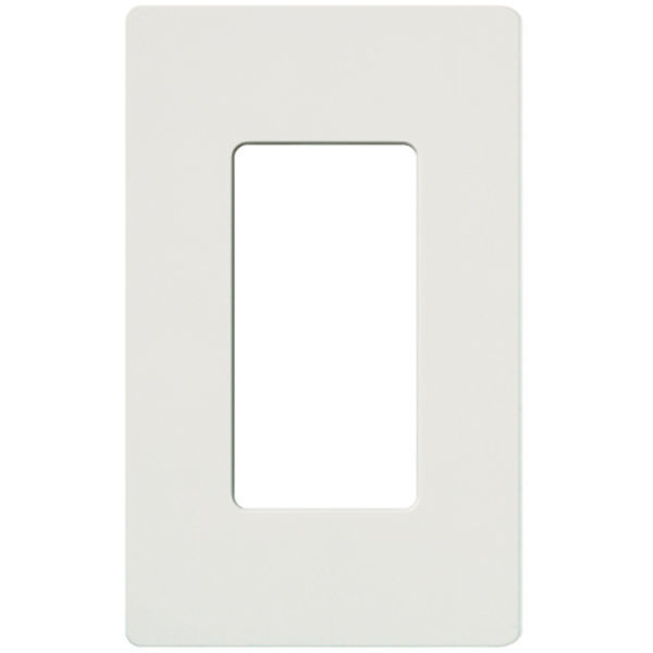 Lutron CW-1-GR - Gray - Claro One-Gang Wallplate - Gloss Finish Image