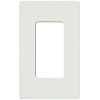 Gray - Screwless - 1 Gang - Decorator Wall Plate - Lutron Claro CW-1-GR