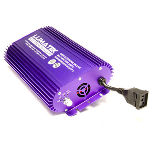 Lumatek - Air Cooled Digital Ballast - 400, 600, and 1000 Watt Dimming Levels Image