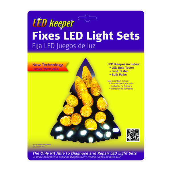 test and repair led light strings image