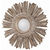 Arteriors DR2038 - Hand Carved Wood Wall Mirror