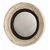 Arteriors DR2024 - Saintes Hand Carved Wood Convex Wall Mirror