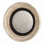 Arteriors DR2024 - Saintes Hand Carved Wood Convex Wall Mirror Image