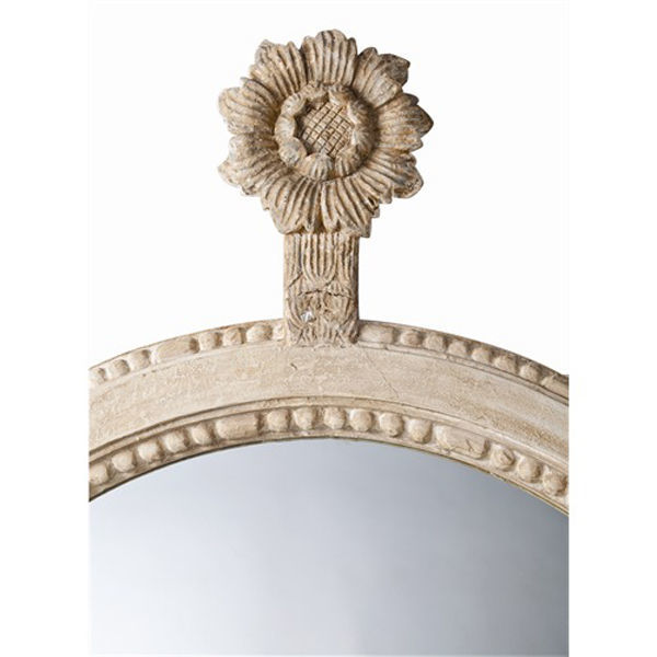 Arteriors DR6001 - Parkgate Carved Wood Wall Mirror Image