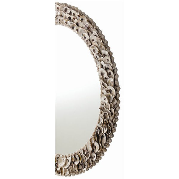 Arteriors 5416 - Authentic Oyster Shell Wall Mirror Image