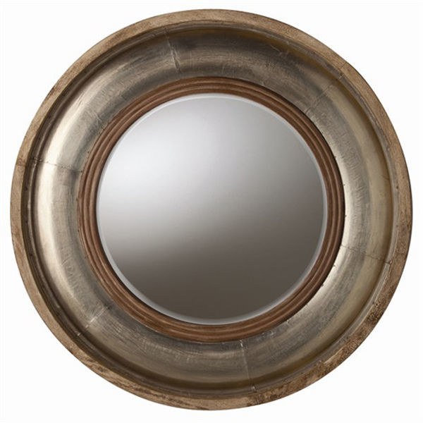 Arteriors 6514 - Light Wood and Foil Wall Mirror Image