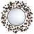 Arteriors 3132 - Abstract Iron Disk Wall Mirror