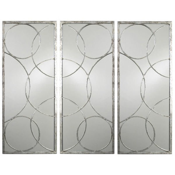 Arteriors 2352 - Geometric Iron Wall Mirror Image