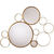 Arteriors 6245 - Bubble Iron Wall Mirror