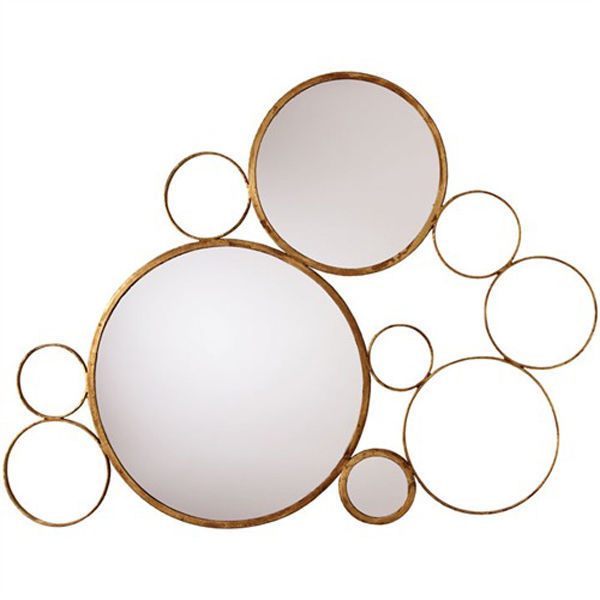 Arteriors 6245 - Bubble Iron Wall Mirror Image