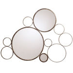 Arteriors 6239 - Bubble Iron Wall Mirror Image