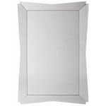 Arteriors DR2023 - Highbrook Curved Edge Rectangle Wall Mirror Image