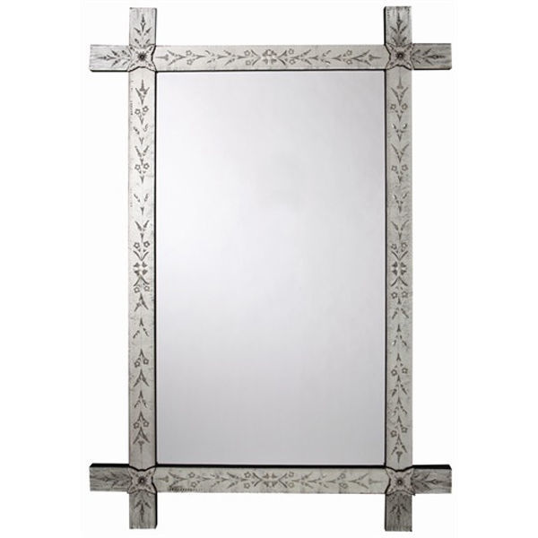 Arteriors DR2000 - Winsford Hand Etched Venetian Wall Mirror Image