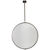 Arteriors 6411 - Large Iron Convex Hanging Wall Mirror