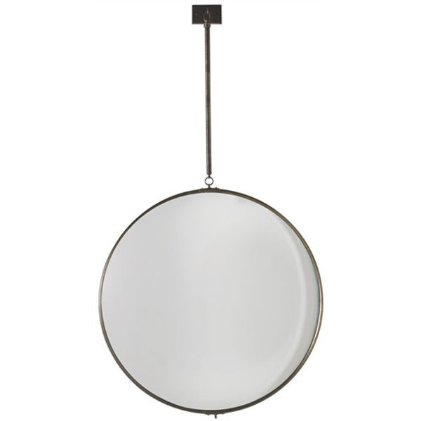 Arteriors 6411 - Large Iron Convex Hanging Wall Mirror Image