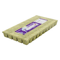 2 in. - A-OK Starter Grow Plugs - Stonewool - 50 Plugs Per Sheet - Grodan 713030