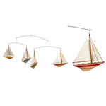 A-Cup Mobile - (4) Handcrafted J-Yacht Colored Miniature Models Image