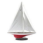 J-Yacht Ranger 1937 - Handcrafted Collectible America's Cup Model Replica Image