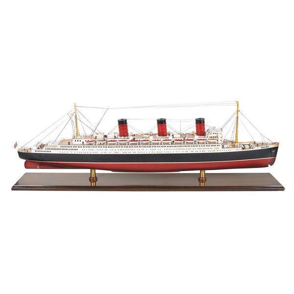 Queen Mary Ship Model Replica Image