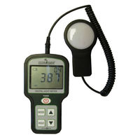 Digital Light Meter - Range up to 5000 Footcandles or 50,000 Lux - Includes Silicon Cell Battery (Lithium 3V CR2032) - Hydrofarm LG17010