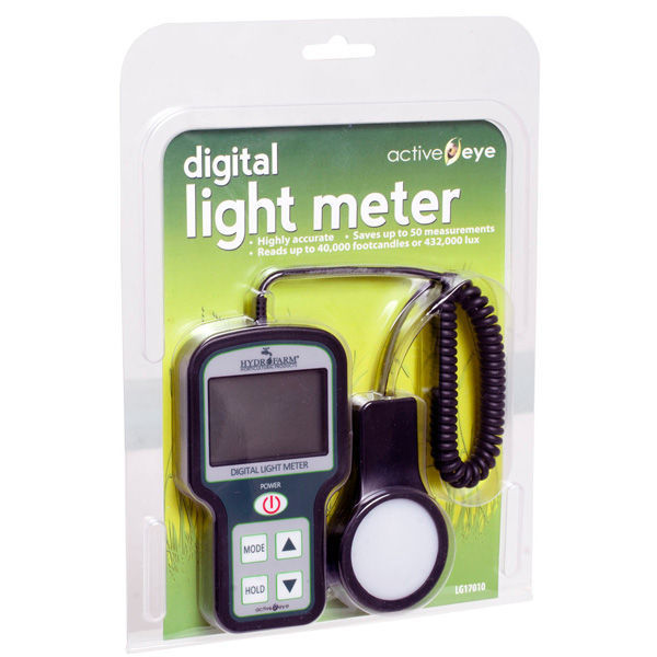Hydrofarm LG17010 - Digital Light Meter Image