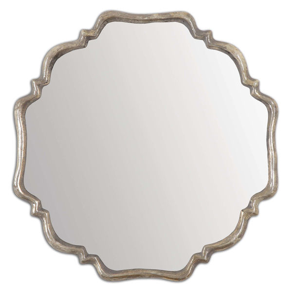 Uttermost 12849 - Round Plated Wall Mirror Image
