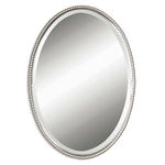 Uttermost 01102 B - Beveled Oval Wall Mirror Image