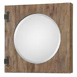 Uttermost 13825 - Wooden Wall Mirror Cabinet Image