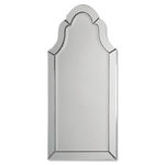 Uttermost 11912 B - Frameless Arch Wall Mirror Image