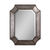 Uttermost 13628 B - Hammered Aluminum Octagon Wall Mirror