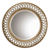 Uttermost 14028 B - Round Open Fret Wall Mirror
