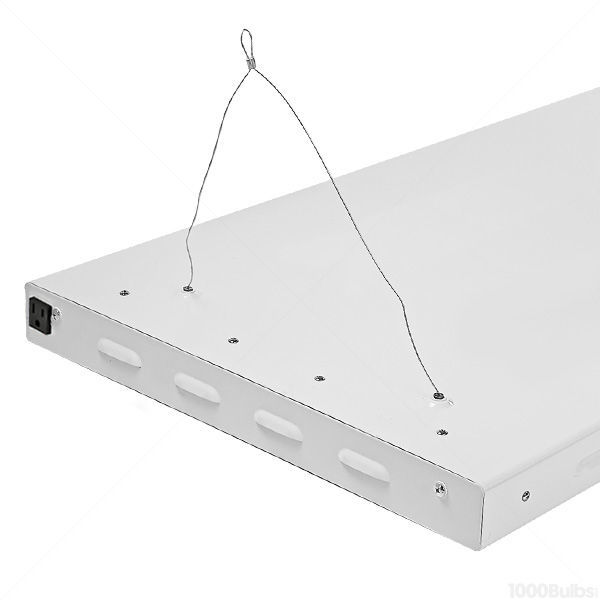 4 ft. - 8 Lamp - F54T5-HO - Fluorescent Grow Light Fixture Image
