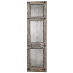Uttermost 13835 - Tall Wooden Standing Mirror Image