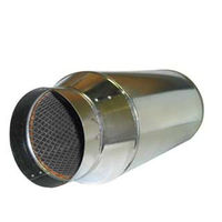 Duct Muffler - 10 in. - In-Line Noise Reducer - Suncourt SCDM10
