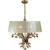 Uttermost 21246 - Crystal Leaf Chandelier Thumbnail